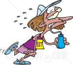 9c09e-5767-exhausted-female-marathon-runner-drinking-water-clipart-illustration1