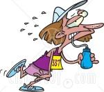 9c09e-5767-exhausted-female-marathon-runner-drinking-water-clipart-illustration1